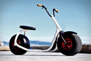 trottinette électrique grosse roue