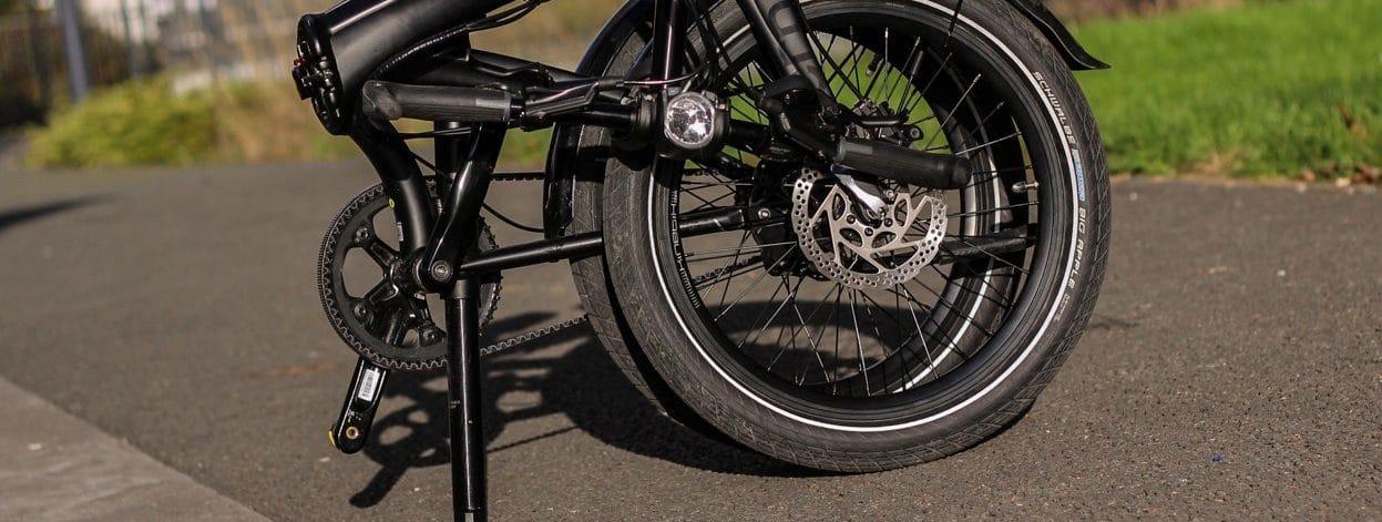 Monter un vélo pliant