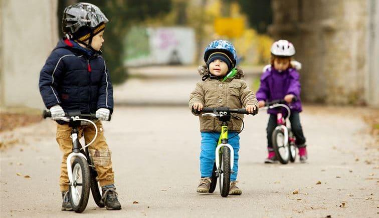 Réglage d'un vélo enfant - image
