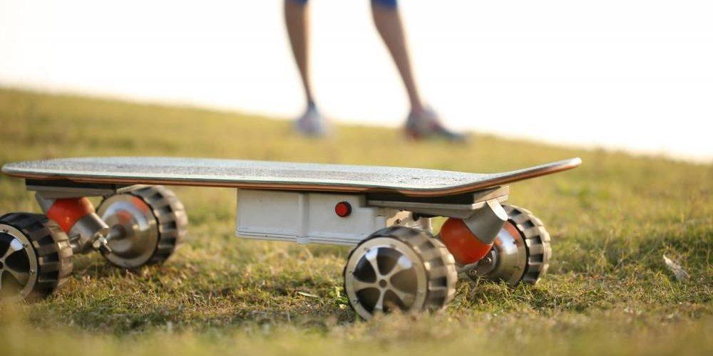 Fonctionnement d'un skateboard électrique